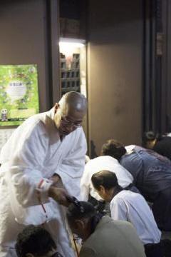 比叡山千日回峰行「北嶺大行満大阿闍梨による特別祈祷」