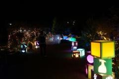 びわ湖大津館2019イルミネーション「光のおもちゃの世界」